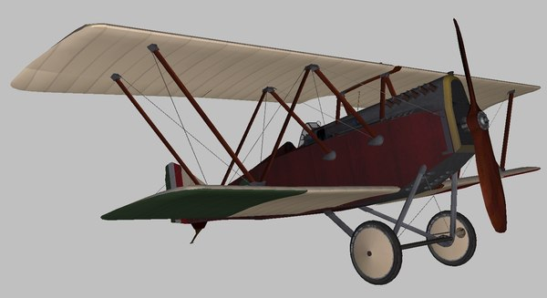 3D ansaldo world war model