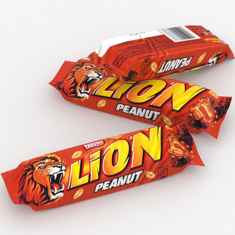 3D nestle lion bar