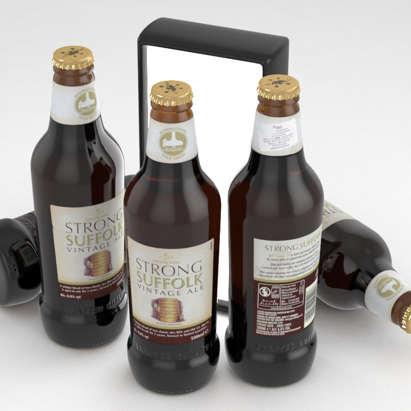 3D beer ale suffolk model