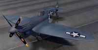 3D plane supermarine spitfire pru