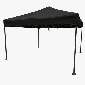 3D event tent model