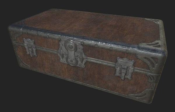 3D suitcase