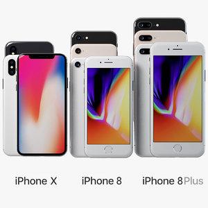 iphone 2017 phone 3D model