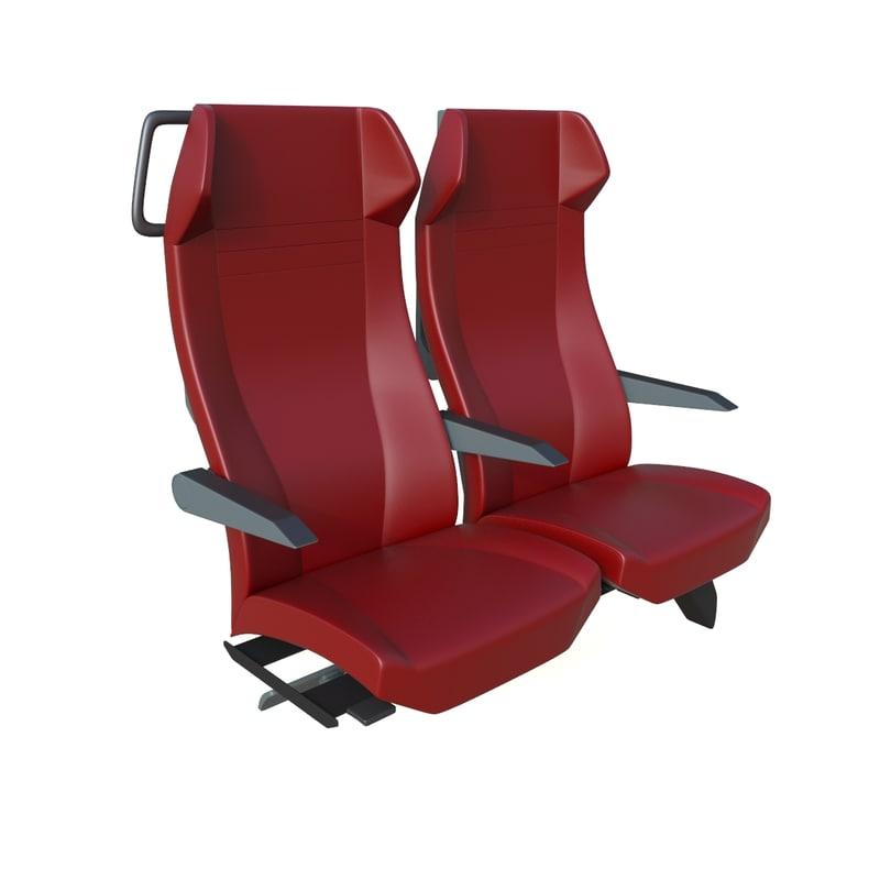 3D genio train seats 2017