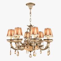 chandelier md 89370-8 2 3D model