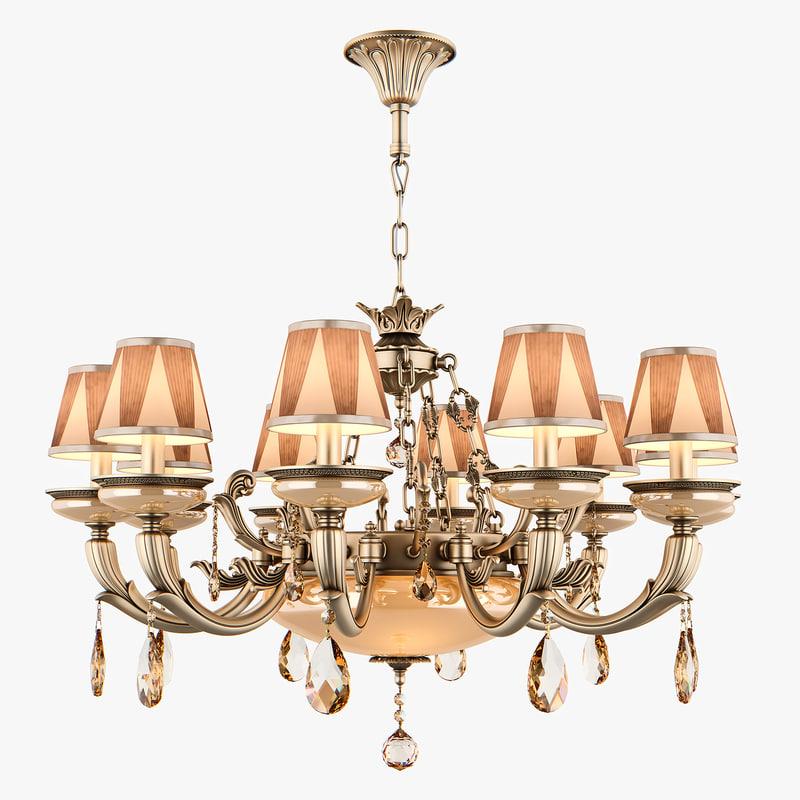 3D chandelier md 89370-10 3 model