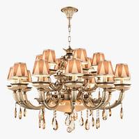chandelier md 89370-12 6 3D model