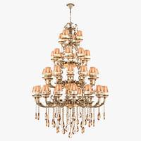 3D chandelier md 89370-47 osgona