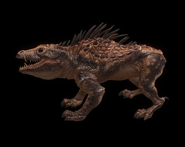 creatures ouger 3D