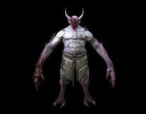 3D model vampire boss