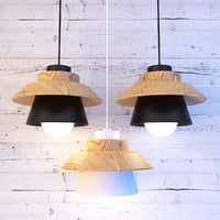 3D wood lamp lights model