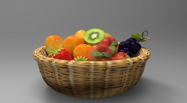 fruits basket 3D
