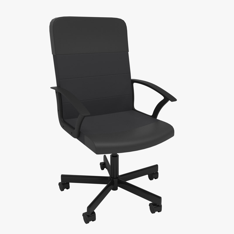 renberget desk chair 3D model