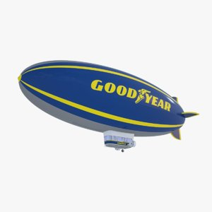 good year blimp - model