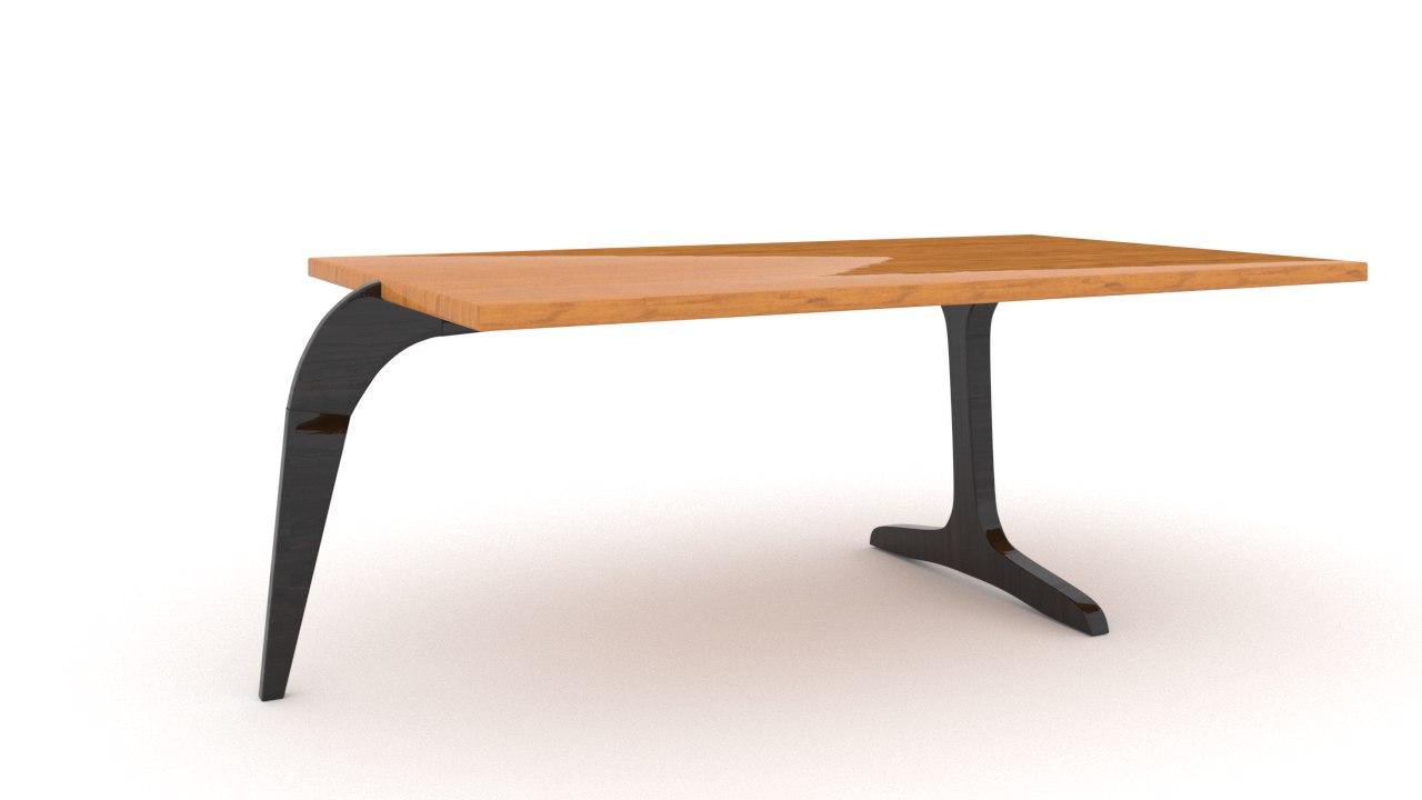 3D modern table