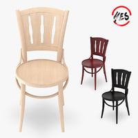 Viennese chair and bar stool