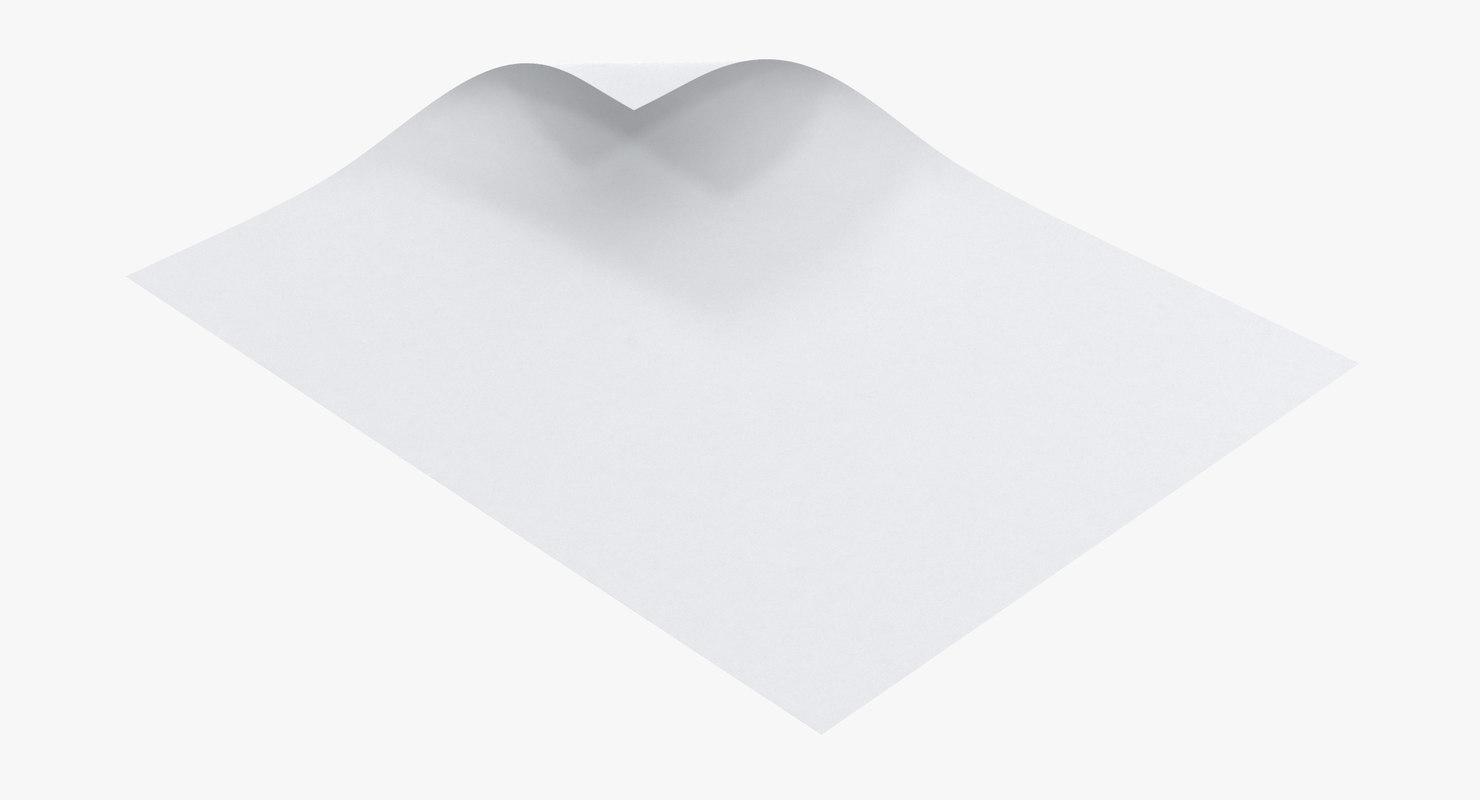 3D single paper sheet 04