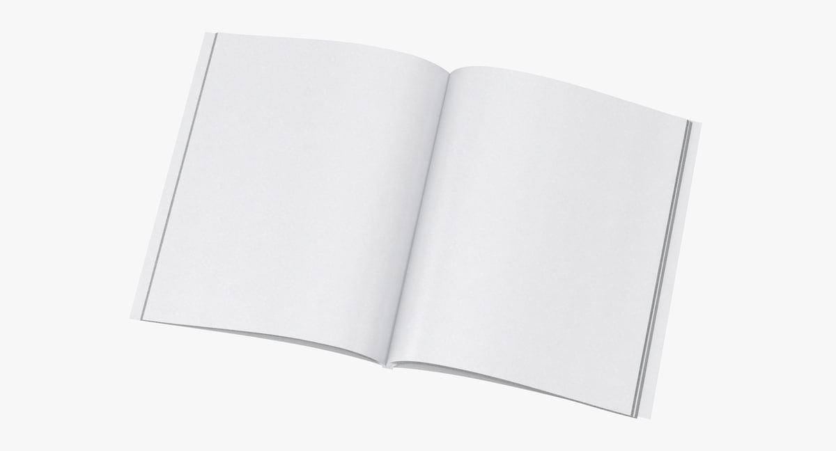 magazine mockup 03 model