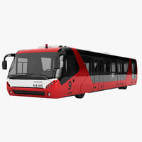 neoplan airliner bus 3D model