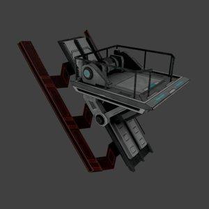 3D elevator element platform