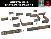 ghetto wall - skate park model