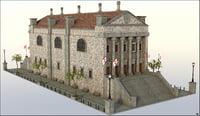 3D building medieval