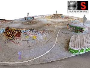 3D skate park scan 24k