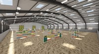 Horse Jumping Area