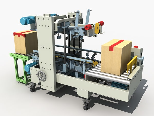 3D corner sealing machine