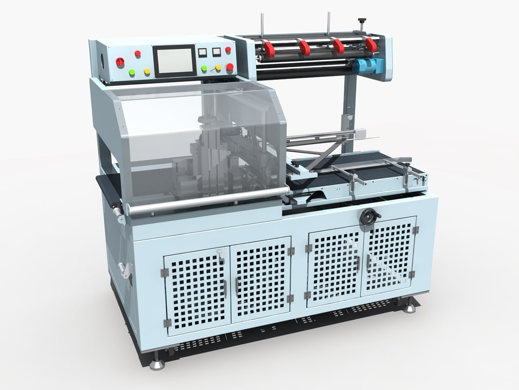 sealing cutting machine 3D model