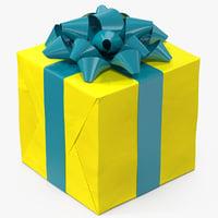 3D gift box 4