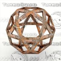 sphere leonardo da 3D model