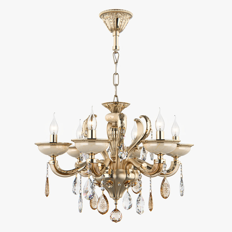 chandelier md 89376-6 osgona 3D model
