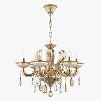 chandelier md 89376-6 osgona 3D model
