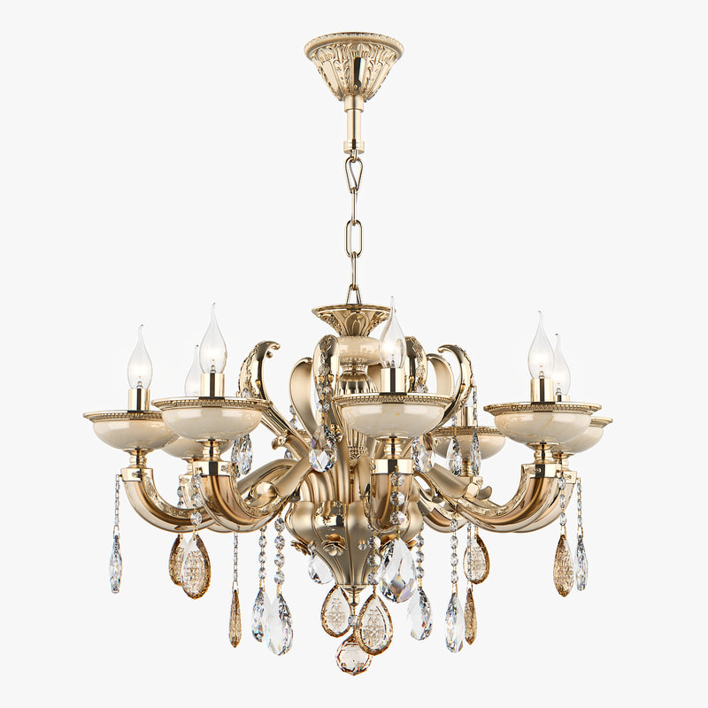 3D chandelier md 89376-8 osgona