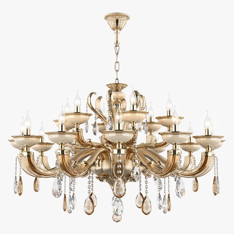 3D model chandelier md 89376-12 6
