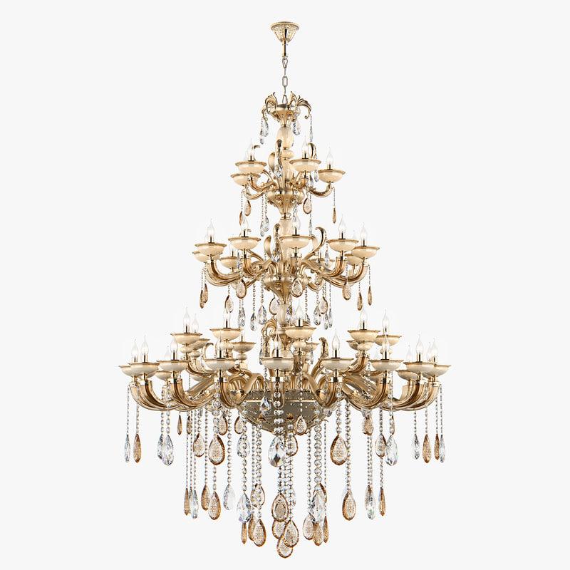 3D chandelier md 89376-42 osgona model