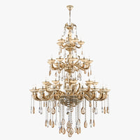 3D chandelier md 89376-42 osgona model