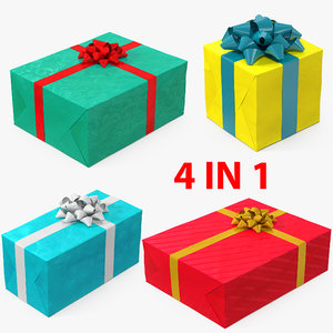 gift boxes 6 3D