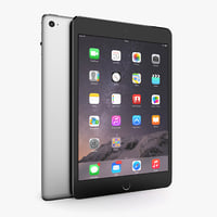 3D apple ipad mini 4