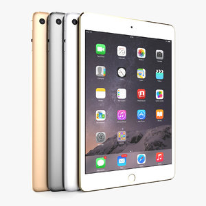 3D apple ipad mini 4