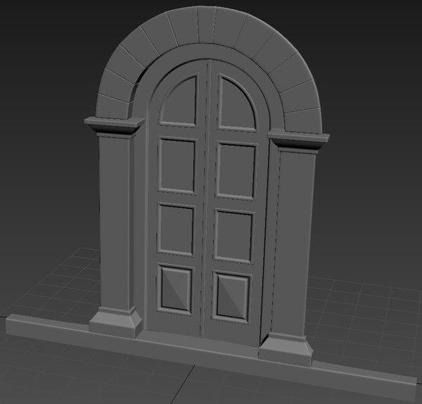 entrance 3D model