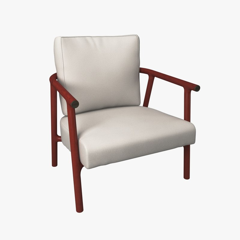 flexform icaro armchair 3D model