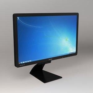 generic pc monitor screen 3D
