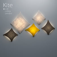 Kite. Wall, Ceiling, Pendant Lamp Collection by Arturo Alvarez