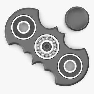 3D bat spinner