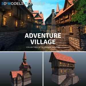 3D villages model