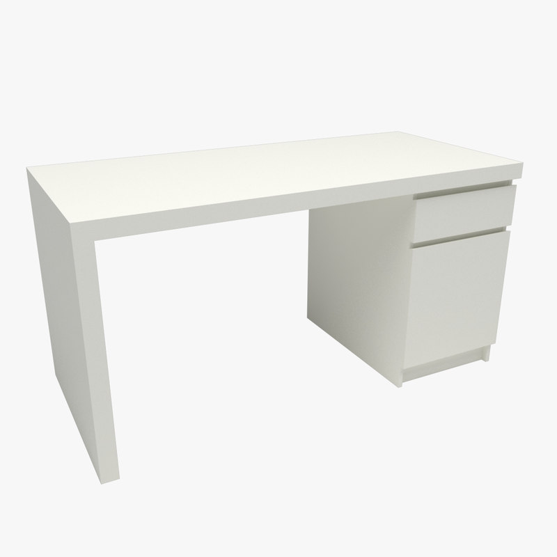 3D malm desk