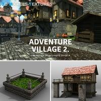 villages 3D model