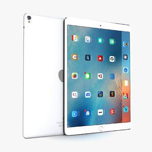 apple ipad pro 10 3D